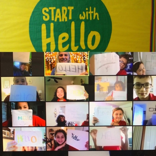 Start with hello CGE